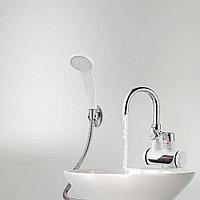 Проточный электрический водонагреватель c душем и дисплеем Instant Electric Heating Water Faucet