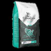 CANAGAN GF корм 4 кг для кошек всех возрастов и котят, Индейка для ухода за полостью рта