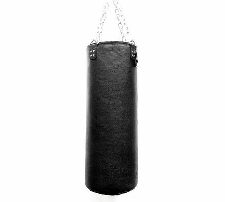 Боксерская груша из натуральной кожи 150см (Бычья 4мм толщина), фото 2