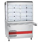 Прилавок-витрина холодильный ABAT «Аста» ПВВ(Н)-70КМ-С-02-НШ