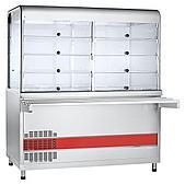 Прилавок-витрина холодильный ABAT «Аста» ПВВ(Н)-70КМ-С-03-НШ