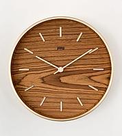 Настенные кварцевые часы PLEEP PERI WOOD-S-09