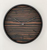 Настенные кварцевые часы PLEEP TARA WOOD-S-06