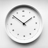 Настенные кварцевые часы PLEEP WHITE B&W-S-18B