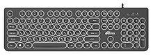 RITMIX RKB-214BL Клавиатура проводная Black