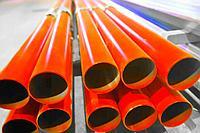 Порошковая покраска труб металлических круглых