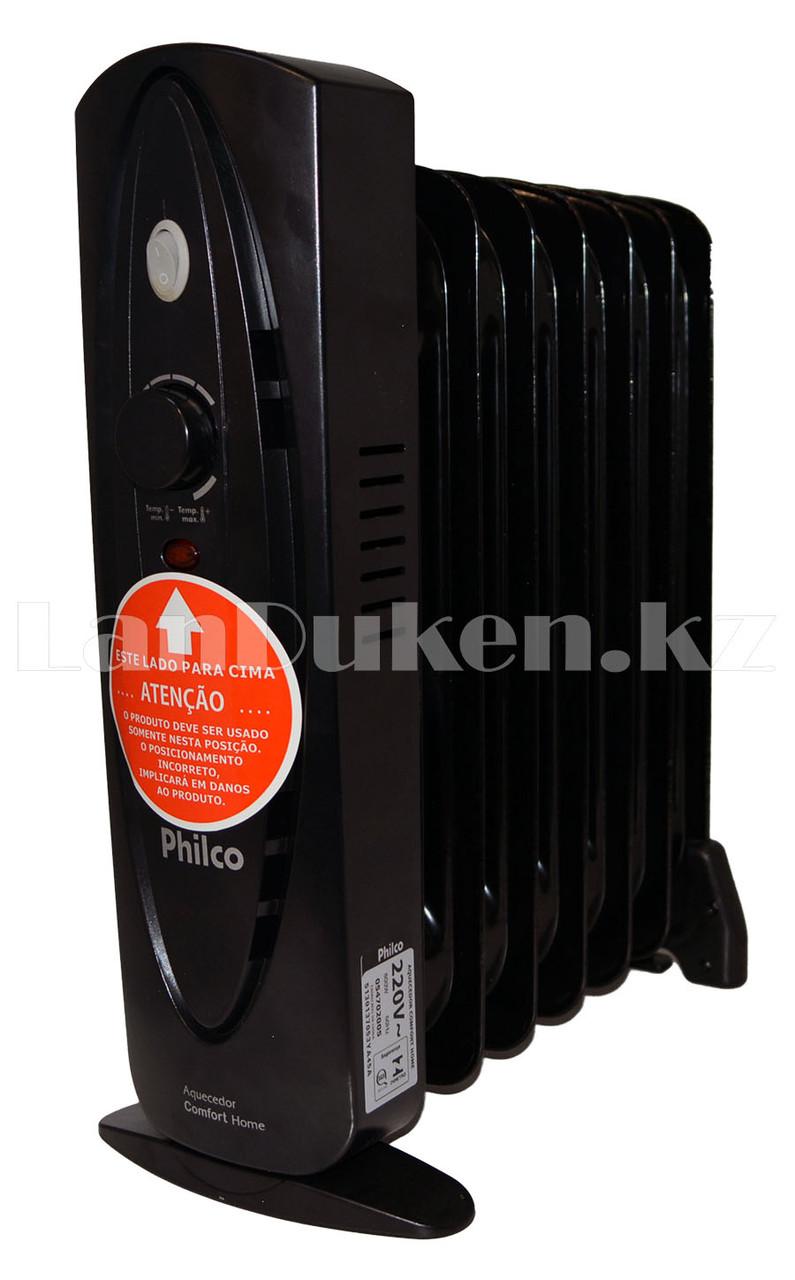 Масляный радиатор Philco 7 секций черный - фото 3