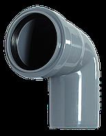 Угол ПП д50/67 (1.8мм) серый