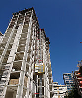 Подъемник , мачтовый строительный лифт ERY 2000/450 (Турция)
