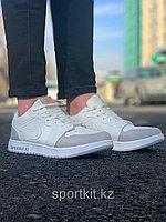 Кеды Nike Jordan низк сер бел, фото 1
