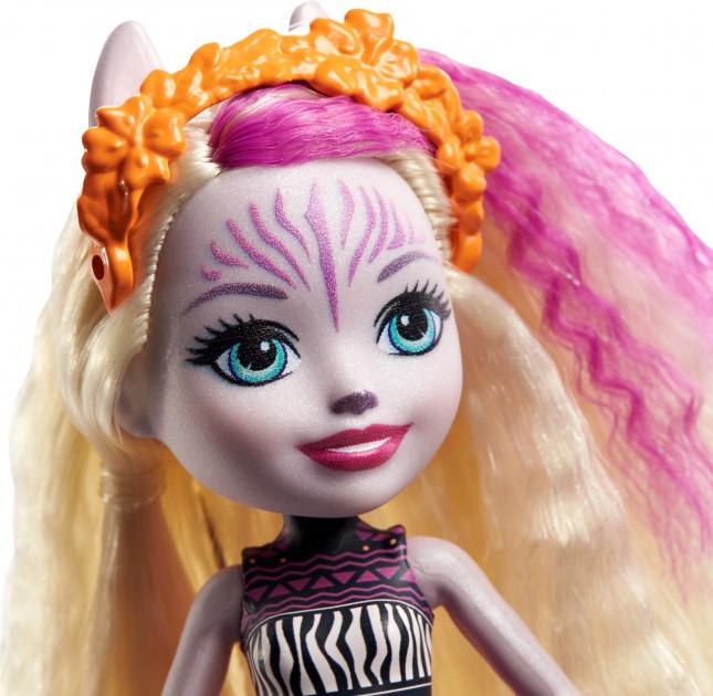 Enchantimals Кукла Энчантималс с питомцем Зебра Зейди, 15 см - фото 3