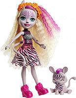 Enchantimals Кукла Энчантималс с питомцем Зебра Зейди, 15 см