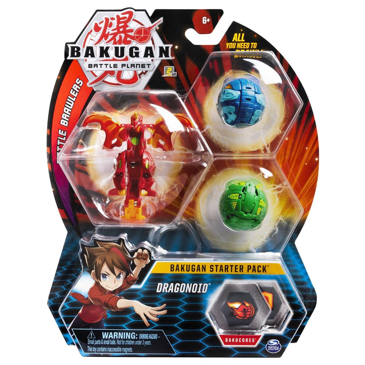 Bakugan Стартовый игровой набор Бакуган №13 Драгоноид (Dragonoid)