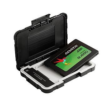 Бокс для SSD Adata AED600-U31-CBK черный