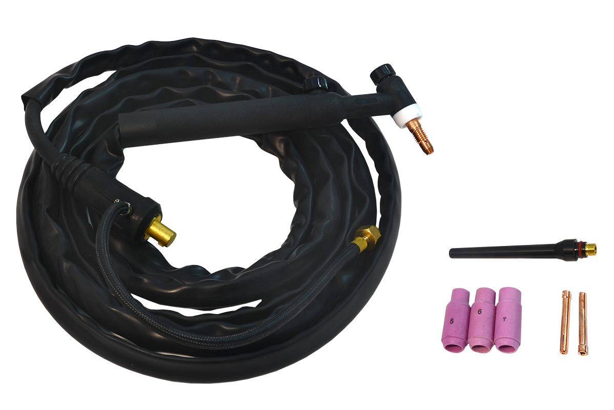 WP-26 (4м) горелка для аргонодуговой сварки вентильная