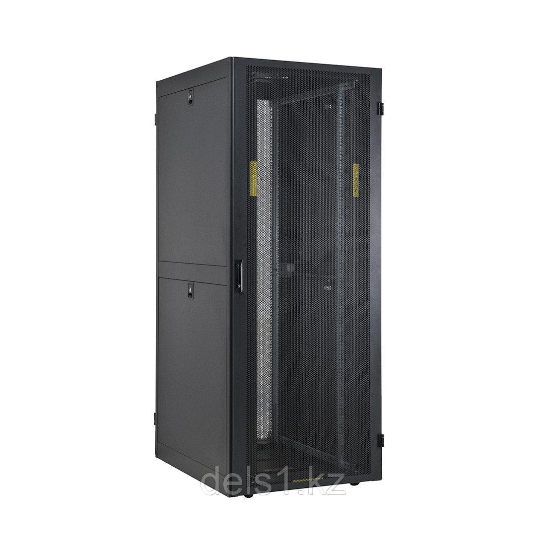"""Шкаф серверный напольный SHIP VE.8042.56.100 19"""" 42U 800*1000*2000mm чёрный"""