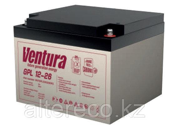 Аккумулятор Ventura GPL 12-26 (12В, 26Ач), фото 2