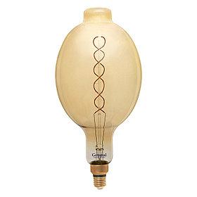 Лампа LED GLDEN-BT180DSS-DEM-8W/230/E27/2K,филамент,прозрачная,диммируемая(General)(1/6),687100