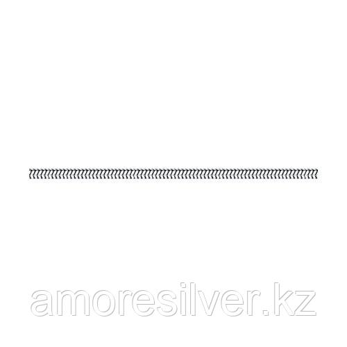 Серебряный браслет для подвесок SOKOLOV серебро с родием, без вставок 965190300 размеры - 16 17 18 19 20