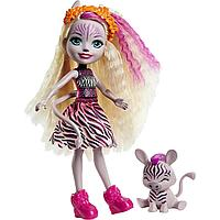 Энчантималс Enchantimals кукла с питомцем Зейди Зебра и Реф GTM27