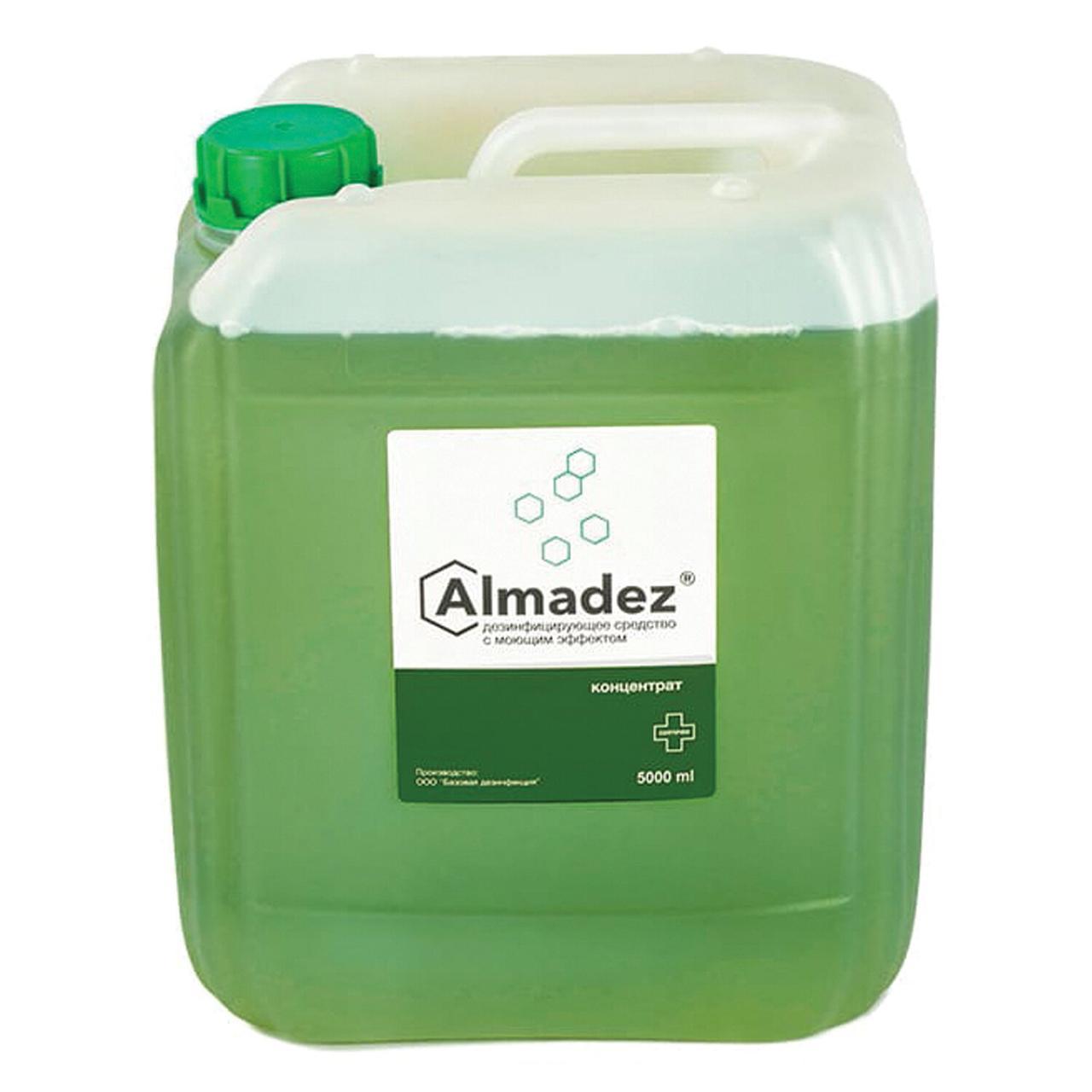 Дезинфицирующее средство с моющим эффектом Алмадез 5 л