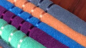 Полотенце банное цветное
