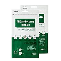 Успокаивающие точечные патчи от акне Purito All Care Recovery Cica-Aid