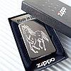 """Зажигалка """"Zippo"""" - Мустанг. Оригинал"""