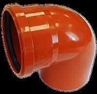 Угол ПП д110/90 (3.4мм) оранжевый