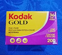 Kodak gold 200/36 кадров. фотоплёнка.
