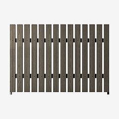 Заборная секция «Штакетник классический» 2×2 м