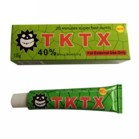 Крем анестетик TKTX 40%, фото 2