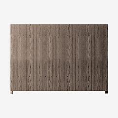 Заборная секция «Штакетник глухой» 2×2 м