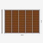 Заборная секция «Горизонтальная» 3×2,025 м, фото 3