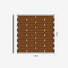 Заборная секция «Плетенка» 2×2,08 м, фото 2