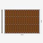 Заборная секция «Шахматка» 3×2 м, фото 2