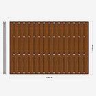 Заборная секция «Шахматка» 3×2 м, фото 3