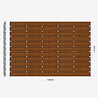 Заборная секция «Шахматка горизонтальная» 3×2,025 м, фото 2