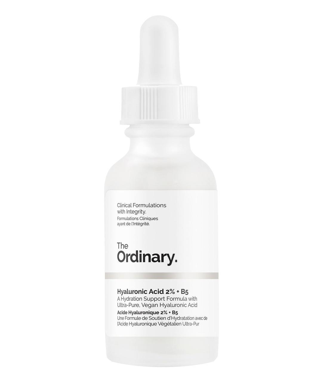 Сыворотка с гиалуроновой кислотой и витамином  B5, THE ORDINARY HYALURONIC ACID 2% + B5
