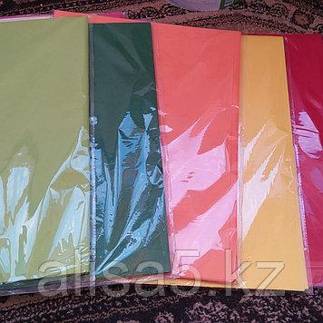 Бумага тишью цветная (желтая, зеленая и др)