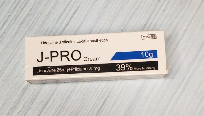 Крем анестетик J-Pro 39% 10гр., фото 2