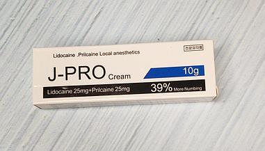 Крем анестетик J-Pro 39% 10гр.