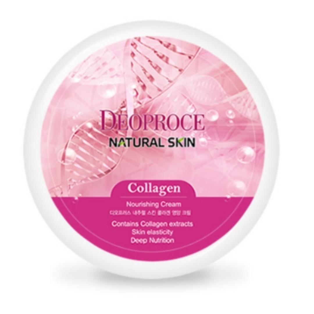 Крем для лица Deoproce Collagen Natural Skin Nourishing Cream 100 g.