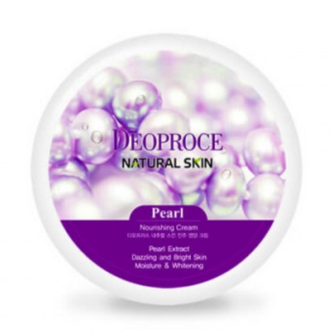 Крем для лица Deoproce Natural Skin Nourishing Cream Pearl 100g