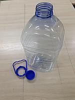 ПЭТ бутылка 5 л (с крышкой и ручкой).