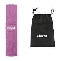 Мини-эспандер Starfit ES-204 высокая нагрузка тканевый purple