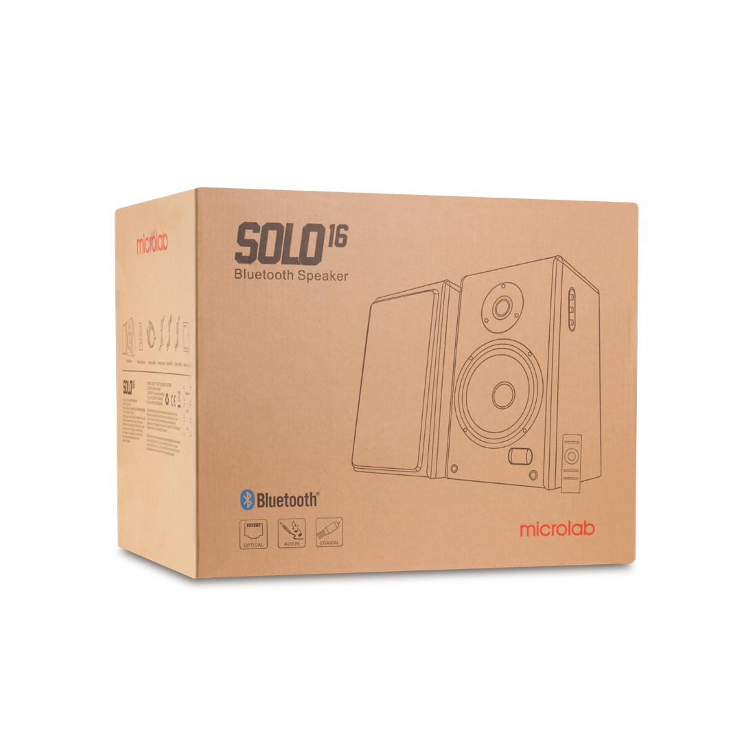 Колонки Microlab SOLO16 2.0 (Black) - фото 3