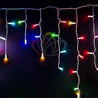 """Уличная LED гирлянда """"Бахрома"""" (""""Айсикл"""") - 4,8 х 0,6 метра, 176 лампочек, разноцветная (RGB), смена цвета"""