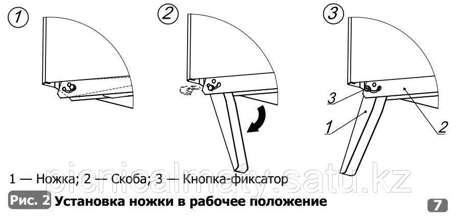 Парогенерирующая дровяная печь Алтай для мобильной бани - фото 3