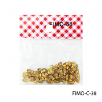 FIMO-C-38Фигурки FIMO в форме рыбок желто-оранжевого цвета